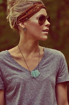Laid-back look of the bohomeian style