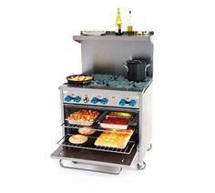 Comstock-Castle F330 36 6-Burner Gas Range, Standard Oven