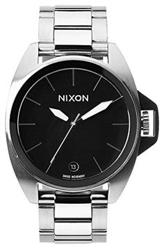 Black The Anthem Watch by Nixon >>> Want additional info? Click on the image.
