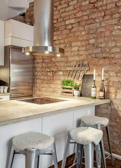 Apartamento con estilo Pequeño Que Parece caliente acogedor y atractivo 14