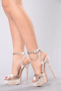e8011d9572 Party Girl Heel - Nude. Fashion Nova ShoesStrappy HeelsSexy HeelsHigh ...