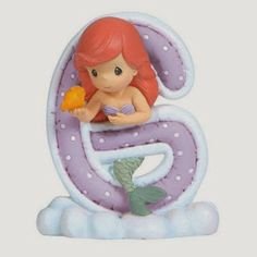 Precious Moments Disney Little Mermaid Ariel Alphabet G Figurine, Little Mermaid Parties, Disney Little Mermaids, Ariel The Little Mermaid, Disney Precious Moments, Precious Moments Figurines, Disney Figurines, Collectible Figurines, Alfabeto Disney, Scrapbook Letters
