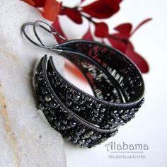 kolczyki-koła,alabama - Kolczyki - Biżuteria