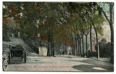 Old Rare Postcard St Julians Avenue & Vintage Car Guernsey Unused (Ref: AD054)   eBay
