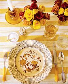 Golden stripes for Thanksgiving
