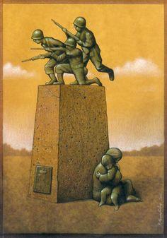 Pawel Kuczynski / Thought-Provoking Satirical Illustrations