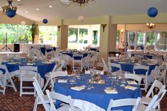 Our Ballroom with ceremony chairs. Some bride like that look... This wedding was mid day.
