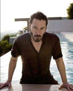 Keanu Reeves Life, Keanu Reeves John Wick, Keanu Charles Reeves, Keanu Reaves, Climate Change Effects, Hot Guys, Hot Men, Gorgeous Men, Daily Fashion