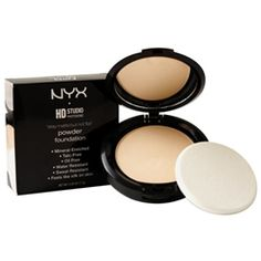 NYX Stay Matte but not Flat powder foundation: I use this over my BB cream for a flawless finish. It's definitely a high end product at a drugstore price.