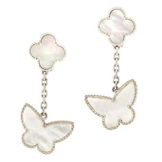 VAN CLEEF & ARPELS Alhambra - Butterfly Earrings