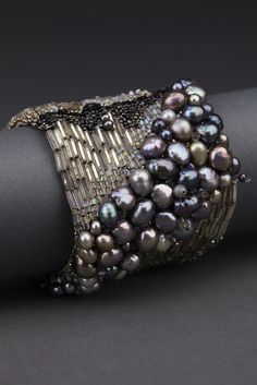 Midnight Couture Cuff