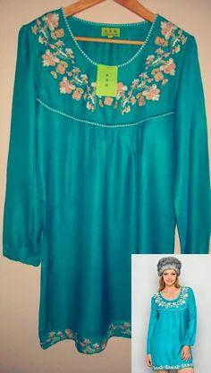 Vestido Túnica 100% viscose, tamanho L  https://www.facebook.com/barraquinhadaalfreda/