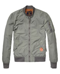 Bomber jacket $189.00 Scotch and Soda