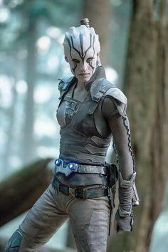 "Sofia Boutella plays Jaylah in ""Star Trek Beyond."" (Kimberley French, Paramount…"