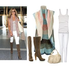 Get the look, CAbi Stella Jean, CAbi Shell Cami, CAbi Line Up Vest....LOVE IT!!