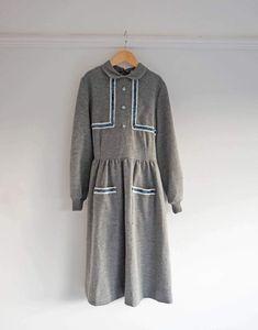 Vintage 1980s Girls Jumper Dress. - Ada's Attic Vintage