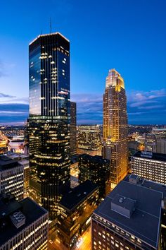 View from Foshay Tower by Alex Noriega