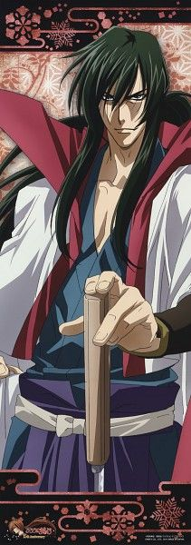 Tags: Anime, Scan, Stick Poster, Rurouni Kenshin, Nakajima Atsuko