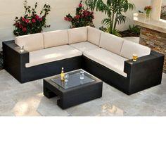 Savannah 3-piece Patio Deep Seating Set