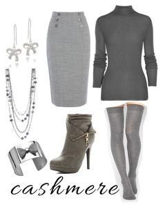 """""""Untitled #1076"""" by pandoraslittlebox ❤ liked on Polyvore featuring Michael Antonio, ASOS, Rick Owens and DB Designs"""
