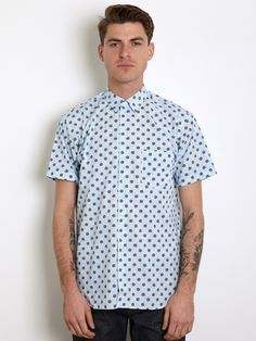 COMME des GARCONS SHIRT Men's Polka Dot and Paisley Shirt for spring/summer '12