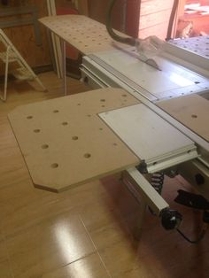 Ampliacion de mesa festool