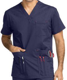 Scrubs, Nursing Uniforms, and Medical Scrubs at Uniform Advantage Vet Scrubs, Doctor Scrubs, Medical Scrubs, Scrubs Outfit, Scrubs Uniform, Men In Uniform, Scrub Suit Design, Stylish Scrubs, Medical Uniforms