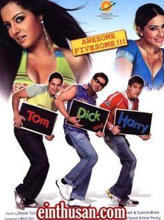 Tom Dick And Harry Hindi Movie Online - Dino Morea, Jimmy Shergill, Anuj Sawhney and Celina Jaitley. Directed by Deepak Tijori. Music by Himesh Reshammiya. 2006 [U/A] w.eng.subs