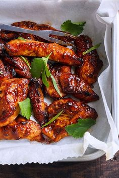 baked glazed chicken