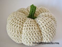 crochet pumpkin pattern                                                                                                                                                                                 More