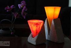 Luminárias com vela interna