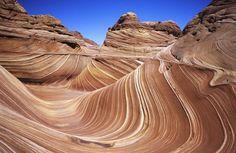 米アリゾナ州の自然が作った岩の彫刻