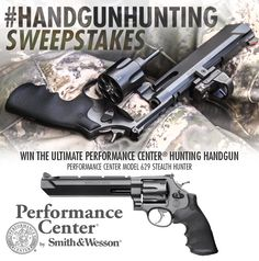 Enter for a chance to win the ultimate hunting handgun - Performance Center® Model 629 Stealth Hunter! #HandgunHunting #PerformanceCenter