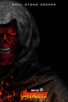 """""""A Soul for the Soul Stone"""". Avengers Infinity War Red Skull The Soul Stone Keeper This was genuinely the biggest plot twist I did not see it coming at all Marvel Villains, Marvel Characters, Marvel Heroes, Marvel Movies, Marvel Avengers, Comic Movies, Marvel Comic Universe, Marvel Dc Comics, Marvel Cinematic Universe"""
