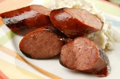 Sausage (kielbasa): is a great favorite in Poland. Made to traditional recipes in many colors, shapes, and sizes, some are flavored - for example with juniper or garlic – and some are smoked with juniper or fruit wood. Popular are pork frankfurters (panòwka); smoked garlic sausage (gruba krakowska); a thin, air-cured, chicken sausage (kabonos); and a garlic and herb variety (wiejska).