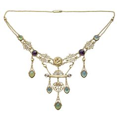 Henry Wilsono Rare Art Nouveau Necklace, British, circa 1904circa 1904