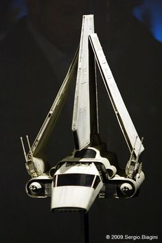 The Imperial shuttle has always been one of my favorite ships from Star Wars. I don't know what it is, I just love transports.