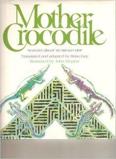 1982 Illustrator Award Winner:      John Steptoe, illustrator of Mother Crocodile: An Uncle Amadou Tale from Sengal, written by Rosa Guy (Delacorte).