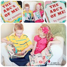 make their own ABC book all about them.  Maybe next christmas! LOVE this idea