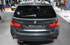 2015 BMW 335d Touring. Bring this freight-train Bimmer wagon over here and it'd be the ideal way to transport lobster pots from Newfoundland to BC.  10 wagons we saw in Paris that we really want but can't buy.
