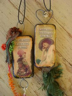 domino crafts, bulletin board art, cubicle decorations, gift tag, pendant, rear view mirror decoration