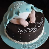I want to make this cake for a baby shower!!