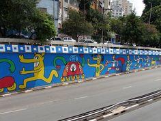 brazilian street art: rui amaral + mazu prozac