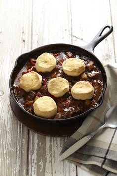 Curried Beef and Biscuits #beef #myplate #healthyfamilydinners #easydinners