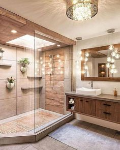 Bathroom decor for the bathroom renovation. Discover bathroom organization, bathroom decor tips, bathroom tile tips, master bathroom paint colors, and more. Bad Inspiration, Bathroom Inspiration, Bathroom Ideas, Bathroom Organization, Bathroom Storage, Bathroom Designs, Bathroom Trends, Bath Ideas, Bathroom Cleaning