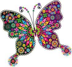 "Photo from album ""Рисованные бабочки"" on Yandex. Butterfly Drawing, Butterfly Pictures, Butterfly Wallpaper, Blue Butterfly, Cartoon Butterfly, Dot Art Painting, Whimsical Art, Beautiful Butterflies, Mandala Art"