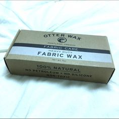 Otter wax Large bar of otter wax. Use it to waterproof fabric or give it that faux leather look! New! No trades. Otter Wax Other