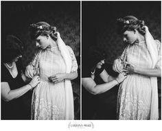 By Carolina Segre Photography.  www.carolinasegre.com  Wedding Photography Bryllupsfotograf Bryllup Bride getting ready