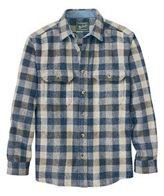 Woolrich Mens Wool Shirt Dark Khaki Buffalo Large ** Read more reviews of the product by visiting the link on the image.