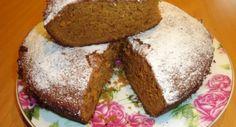 Испеченный пирог можно посыпать сахарной пудрой.